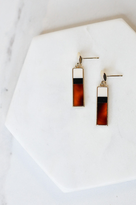 Bar Drop Earrings from Dress Up