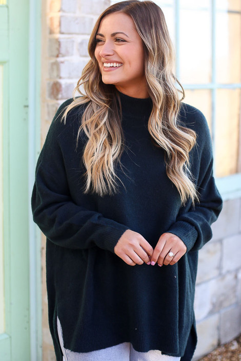 Brushed Knit Oversized Top from Dress Up