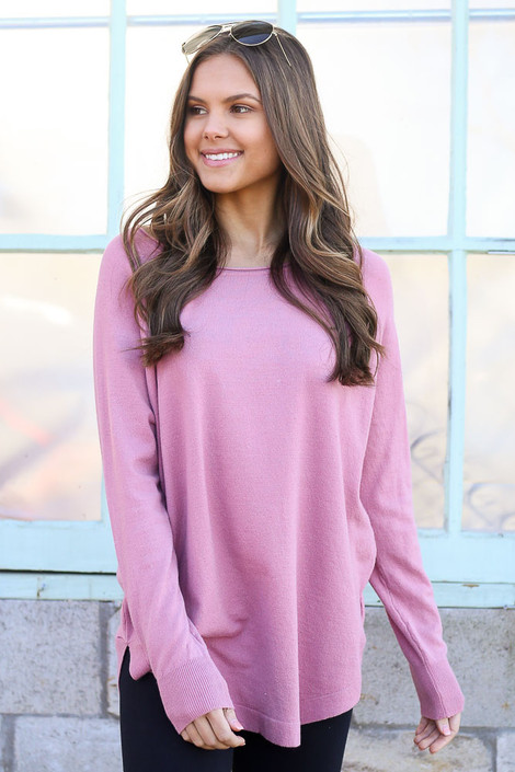 Blush - Soft Knit Top