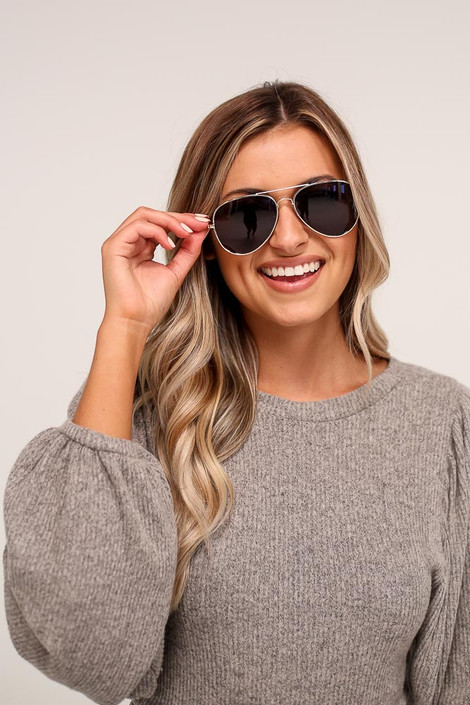 Gold - Polarized Aviator Sunglasses from Dress Up