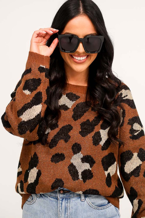 Black - Oversized Square Sunglasses from Dress Up