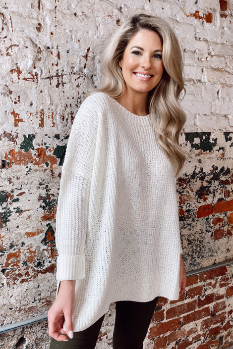 Oversized Lightweight Knit Top from Dress Up