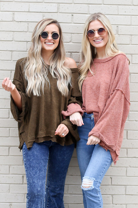 Taupe - Luxe Cloud Sweater