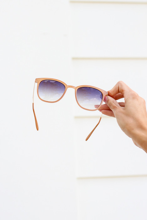 Nude - square sunglasses at dress up