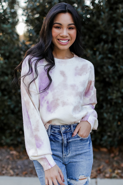 Pink - Tie-Dye Sweater from Dress Up