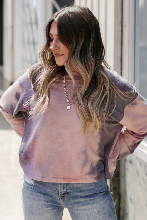 Grey - Tie-Dye Pullover from Dress Up