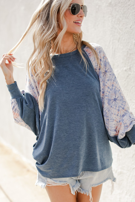 Teal - Relaxed Fit Top from Dress Up