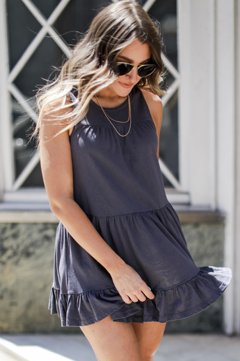 Charcoal - Tiered Tank