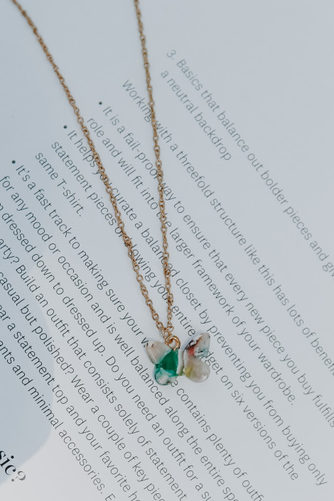 Multi - Butterfly Necklace from Dress Up
