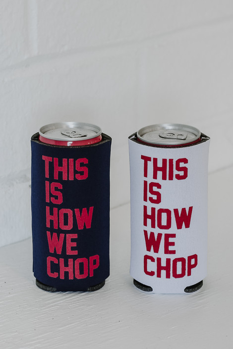 Navy - This Is How We Chop Koozie from Dress Up