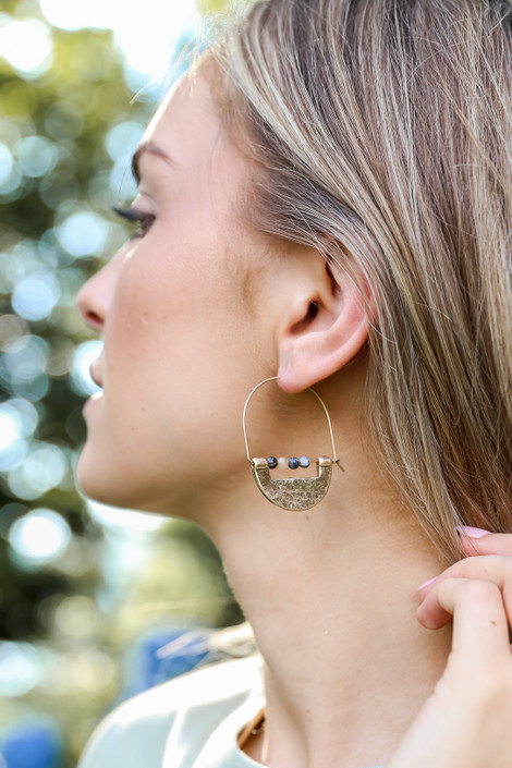 Natural - Statement Earrings