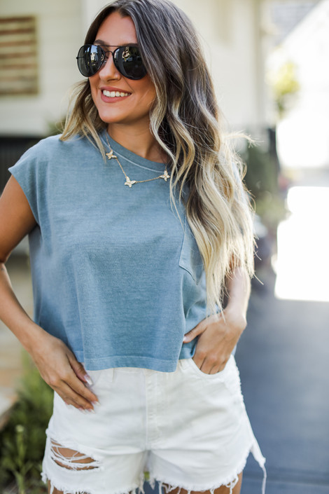 Denim - Cropped Tee from Dress Up