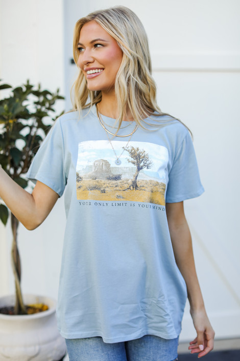 Denim - Your Only Limit Is Your Mind Graphic Tee from Dress Up