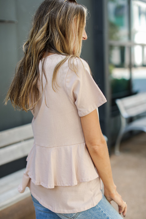 Blush - Tiered Back Tee from Dress Up