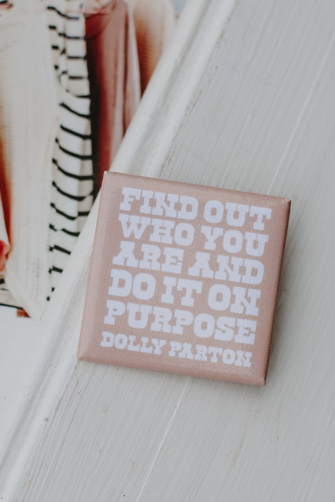 Blush - Dolly Quote Button