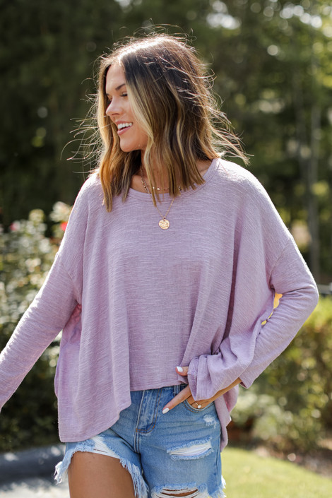 Mauve - High-Low Top from Dress Up