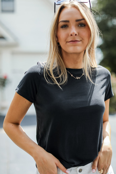 Black - Everyday Tee from Dress Up