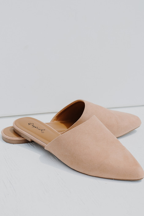 Blush - Pointed Toe Mules from Dress Up