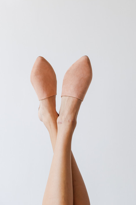 Blush - Pointed Toe Mules