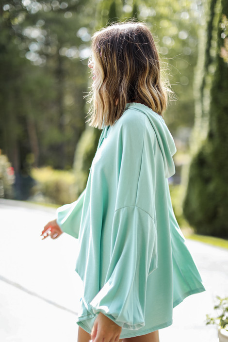 Sage - Oversized Hoodie from Dress Up