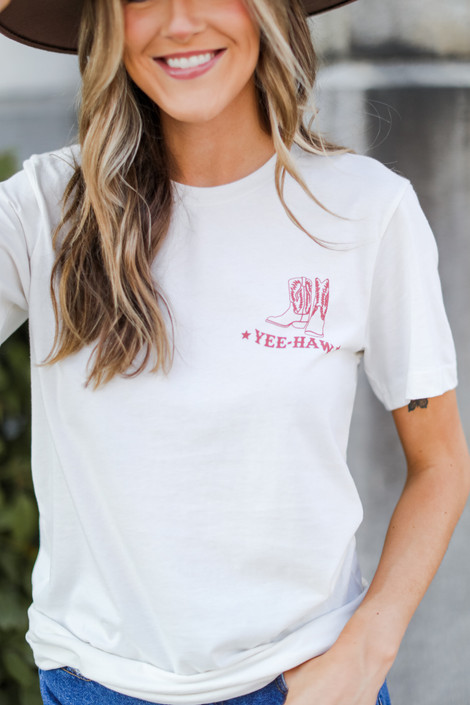 Ivory - Yeehaw Tee from Dress Up