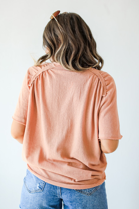 Peach - Everyday Tee from Dress Up