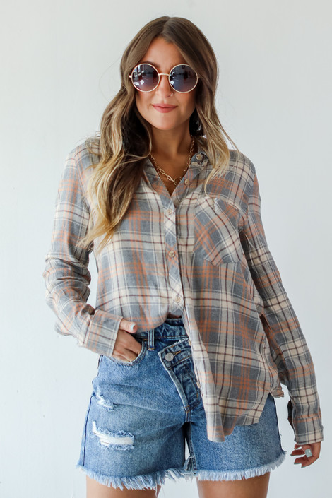 Heather Grey - Flannel from Dress Up