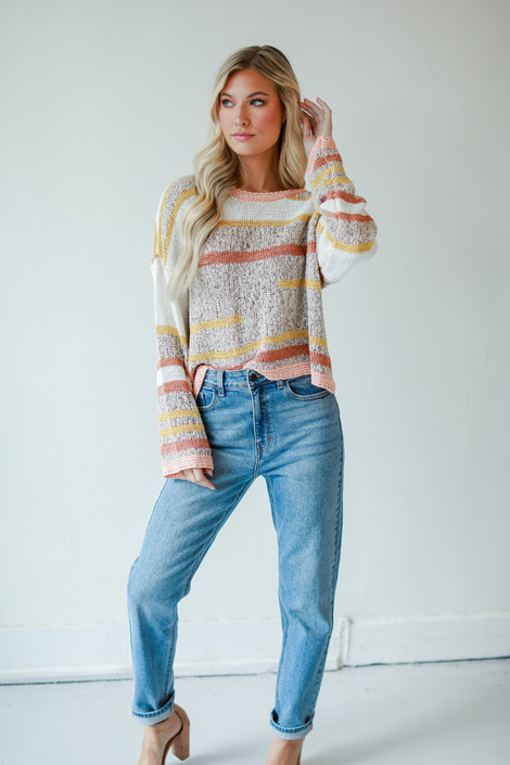 Medium Wash - High-Rise Mom Jeans from Dress Up