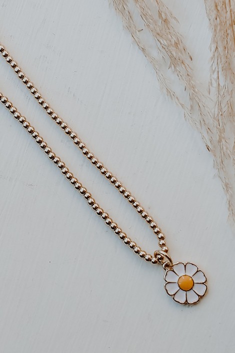 Gold - Daisy Necklace from Dress Up