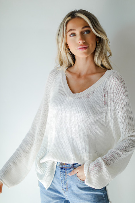 Ivory - Knit Tunic from Dress Up