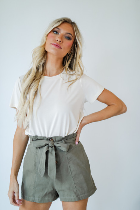 Ivory - Everyday Tee from Dress Up