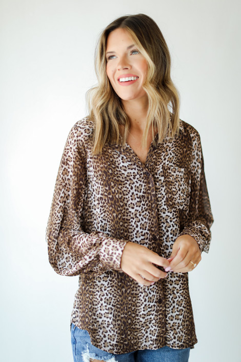 Leopard - Blouse from Dress Up