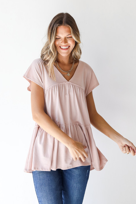 Blush - Tiered Top