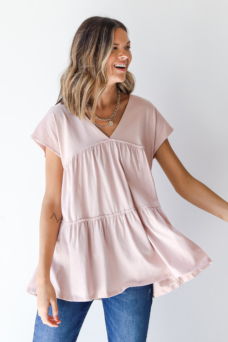 Blush - Tiered Top from Dress Up