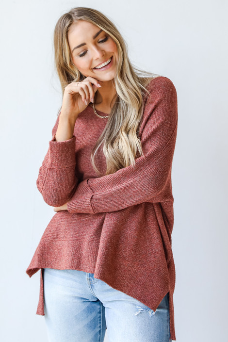 Wine - Oversized Sweater from Dress Up