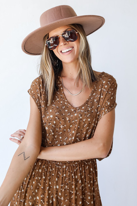 Camel - Spotted Jumpsuit from Dress Up