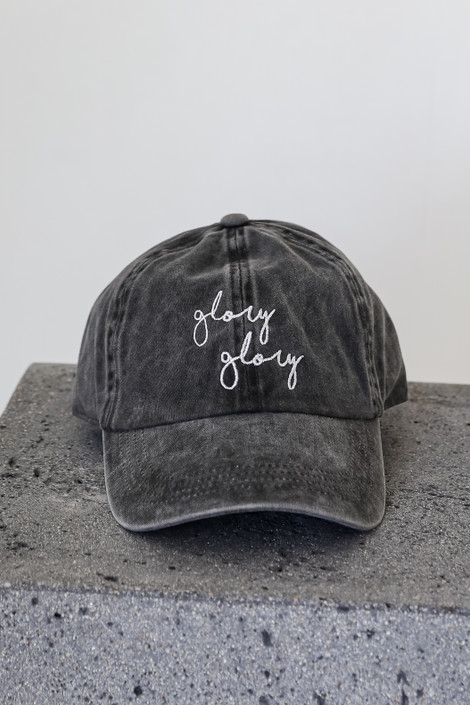 Black - Glory Glory Embroidered Hat from Dress Up
