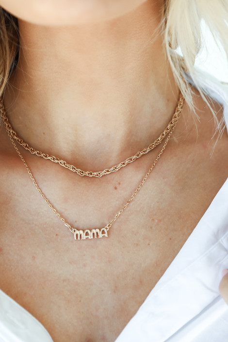 Gold - Layered Chain Necklace