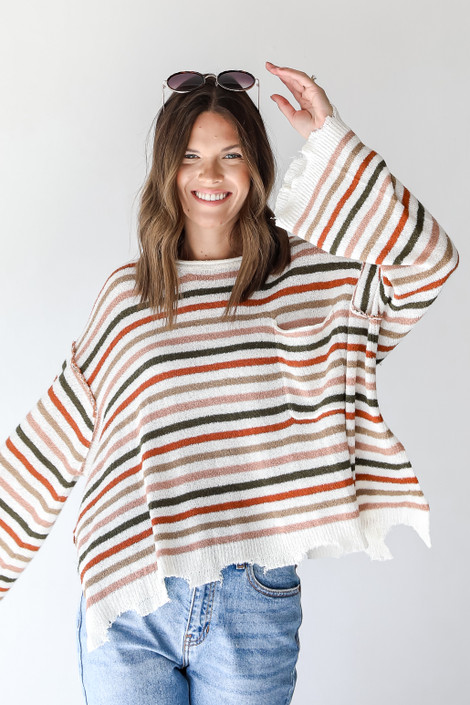 Multi - Striped Sweater from Dress Up