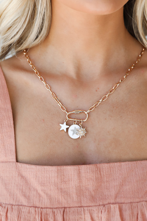 Gold - Charm Necklace