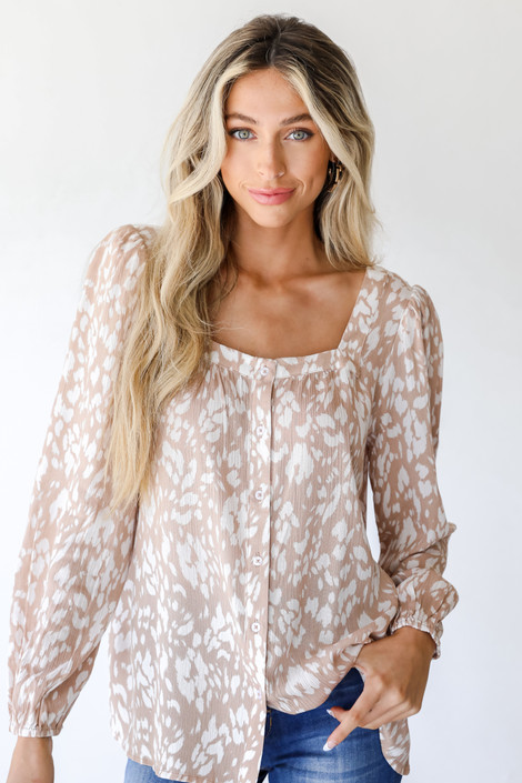 Taupe - Blouse