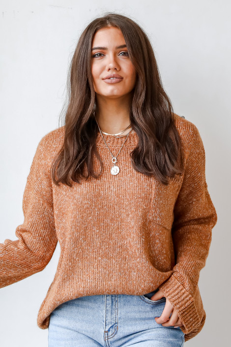 Camel - Oversized Sweater from Dress Up