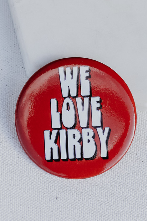 Red - We Love Kirby Button