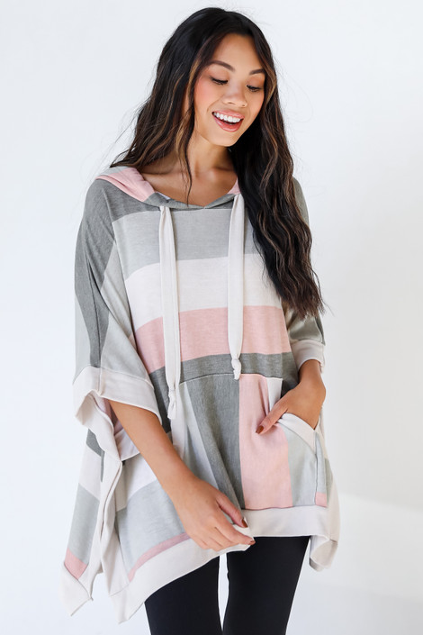 Blush - Striped Hoodie from Dress Up