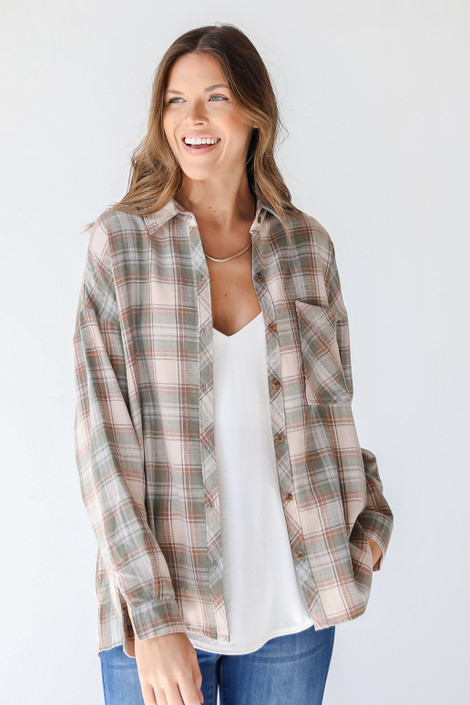 Olive - Flannel