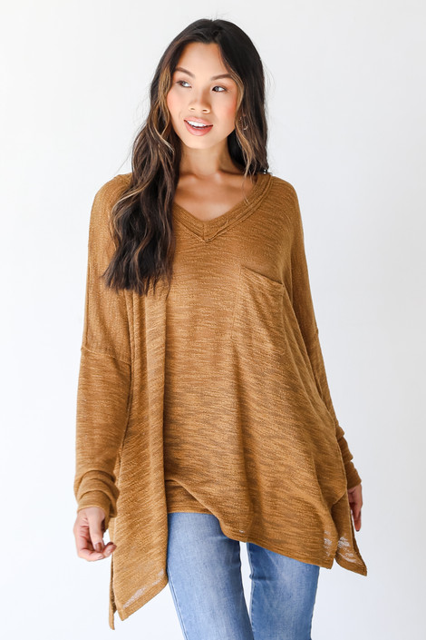 Camel - Knit Top from Dress Up
