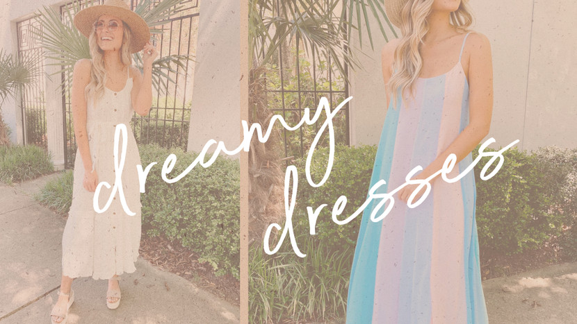 The Dreamiest Dresses for Spring and Summer