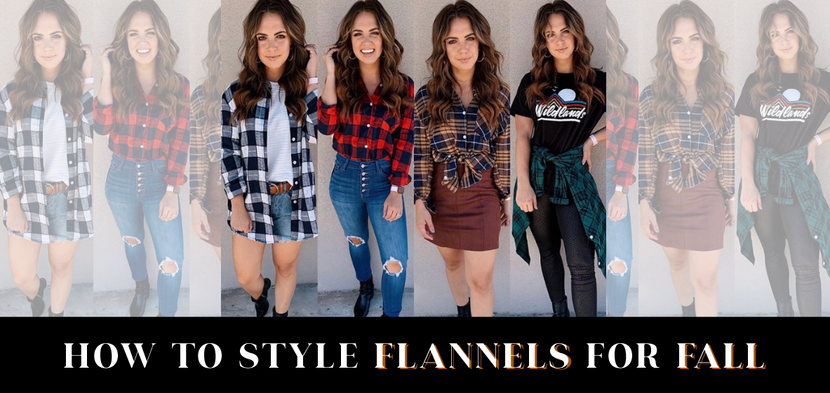 HOW TO STYLE FLANNELS DURING FALL