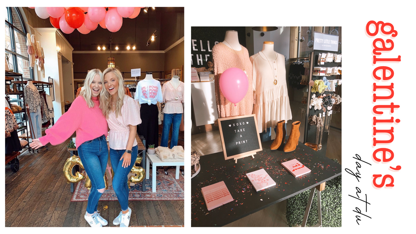 Galentine's Day Event At Dress Up