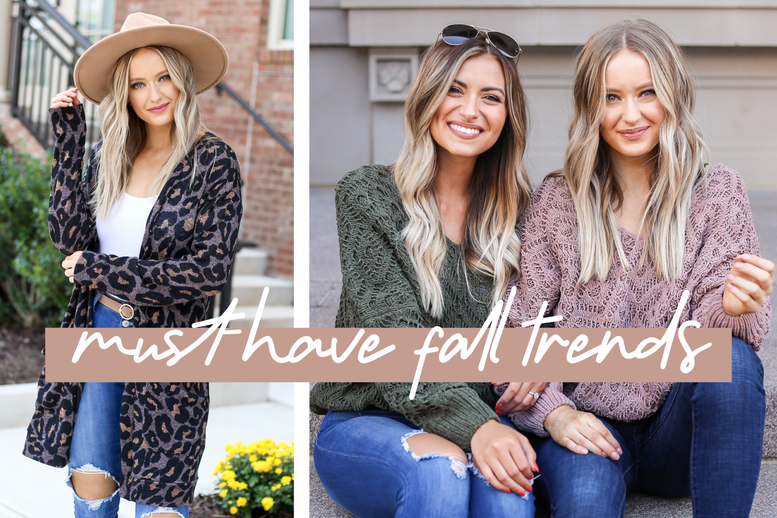 5 MUST-HAVE FALL TRENDS